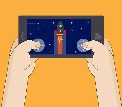 game apps that pay you money- picture of mobile phone game