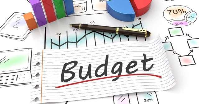 Financial tips- budget graph