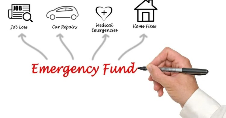 Financial tips- emergency fund drawing