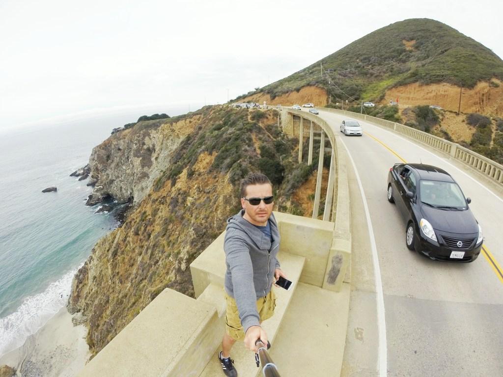 Auch wieder ein Selfie von mir…auf der Bixby Bridge!! :)