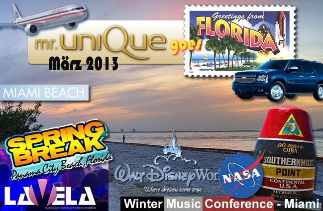 Mister UniQue Goes Florida 2013
