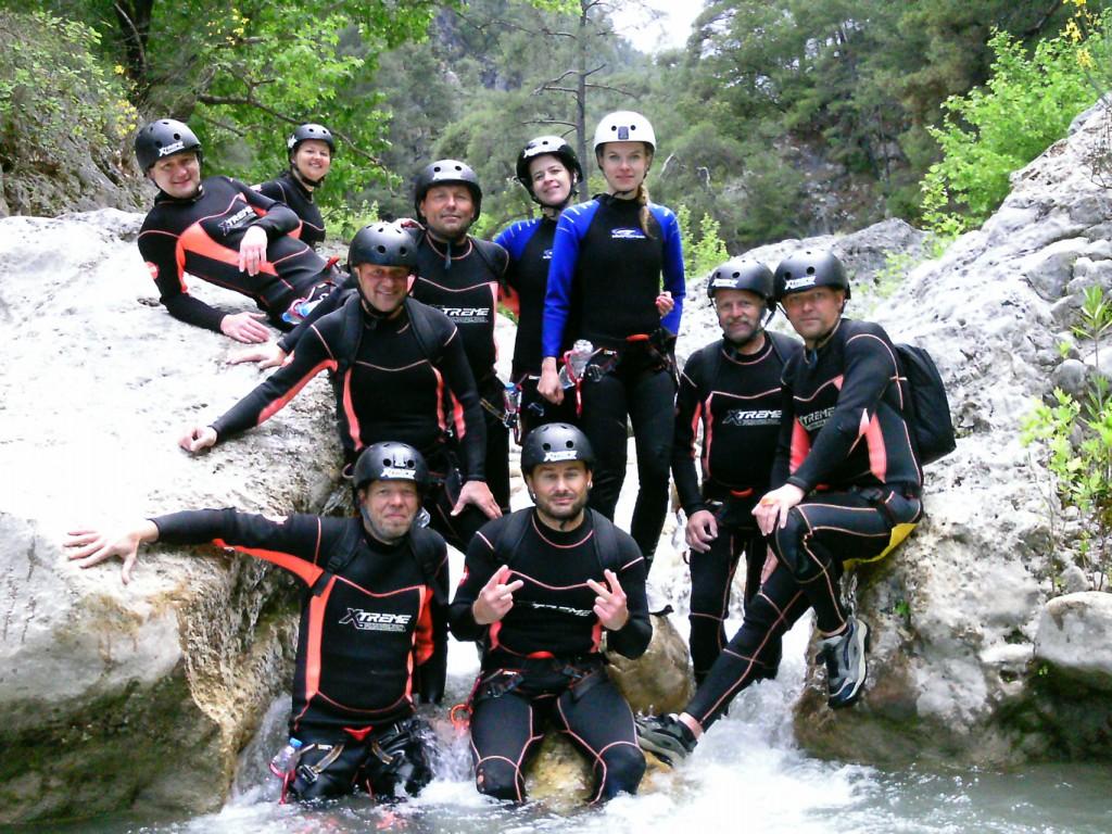 canyoning-Wildwasser