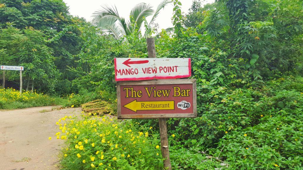 Endlich, wir sind fast da….. Der Mango View Point.
