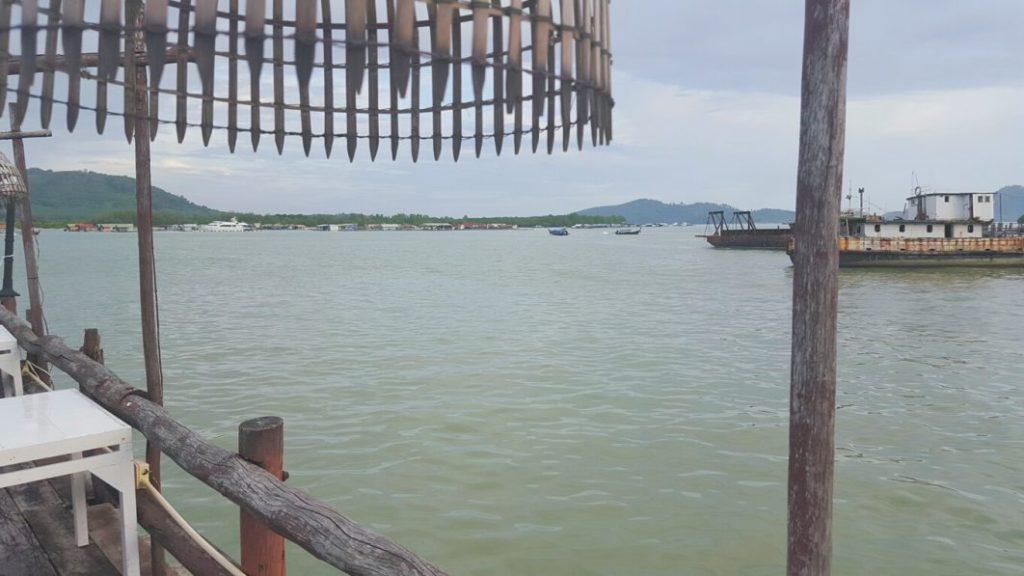 Von diesem Restaurant aus, hatte man einen tollen Blick aufs Wasser, den ich ausgiebig genossen habe.