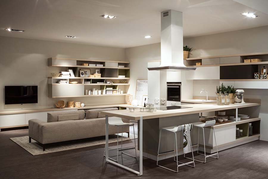Unire in un unico ambiente, in maniera fluida ed armoniosa, soggiorno e cucina, presenta vari vantaggi: Idee Di Arredo Per Un Open Space Moderno Mister Vetrano