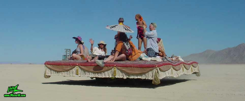 Magic Carpet Ride Art Car   Magic Carpet Ride   Art Cars   Mutant     Magic Carpet Ride Art Car