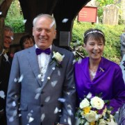 Wedding Celebrations raise money for Mistletoe Therapy UK
