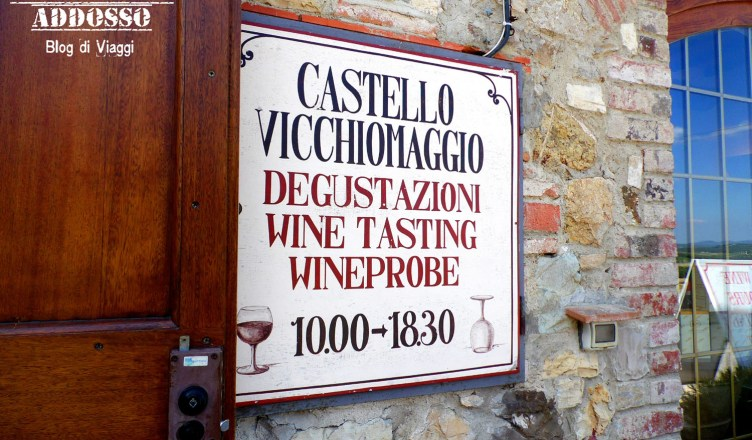 Wine Tasting and Lunch in Chianti Vicchiomaggio Castle