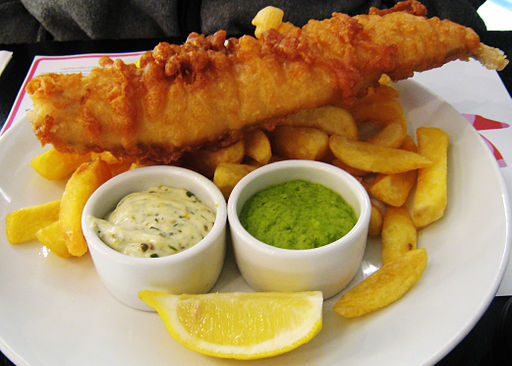 dove mangiare a londra fish and chips