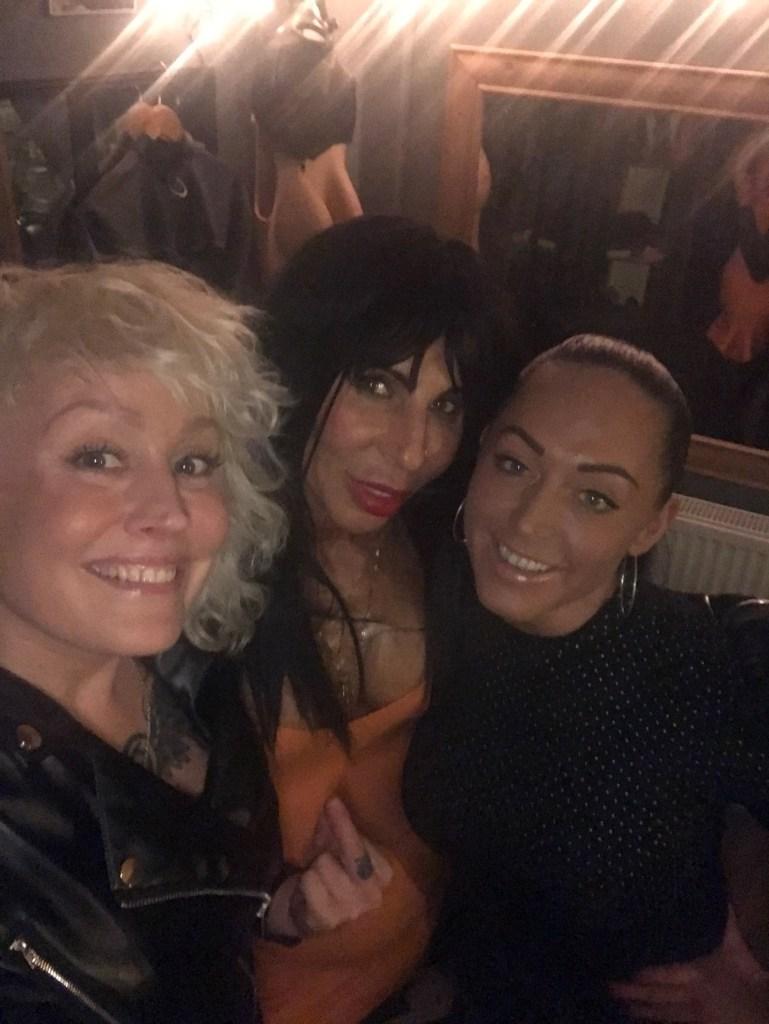 Mistress Firefly, Mistress Manouche & Mistress Candy. The Leeds BDSM playroom.