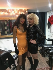 Professional Dominatrix Firefly & professional sensual Seductress Manouche.