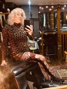Leeds Mistress Firefly. The Leeds BDSM playroom.