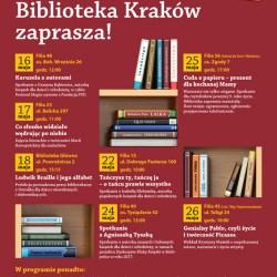 Wydarzenia w Bibliotece Kraków