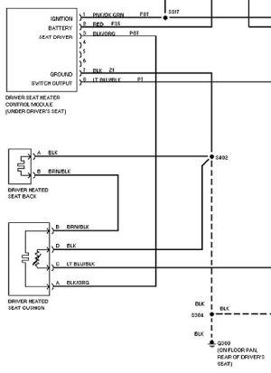 Heated Seat Repair Procedure  Page 3