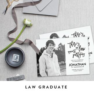 Law Graduation Announcements