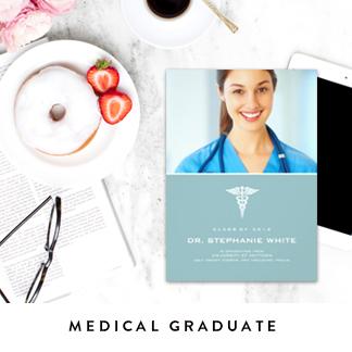 Medical Graduation Announcements
