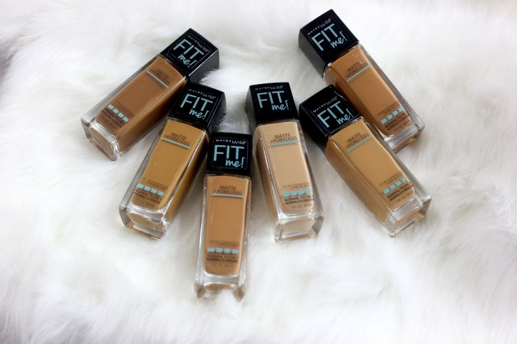 Product Review  – Maybelline Fit Me Poreless Foundation.