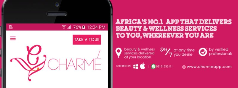 Charme: Online Beauty and Wellness service provider in Nigeria .