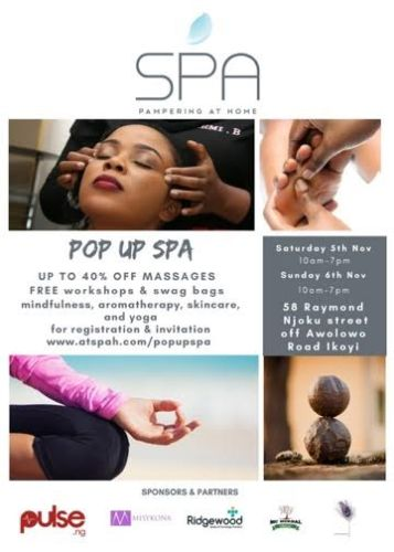Massages and Self Pampering event this weekend .