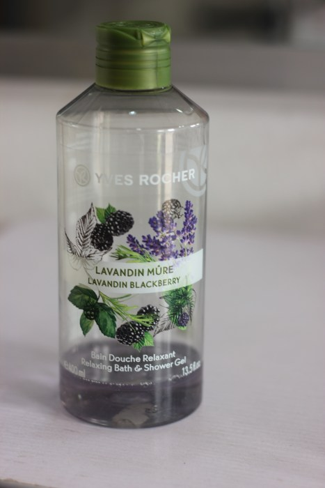 Yves Rocher Lavender Blackberry Shower Bath Gel