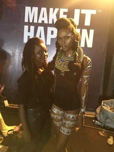 Lagos Fashion & Design Week Backstage 2017