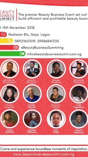 Plan to attend Beauty Business Summit 2018