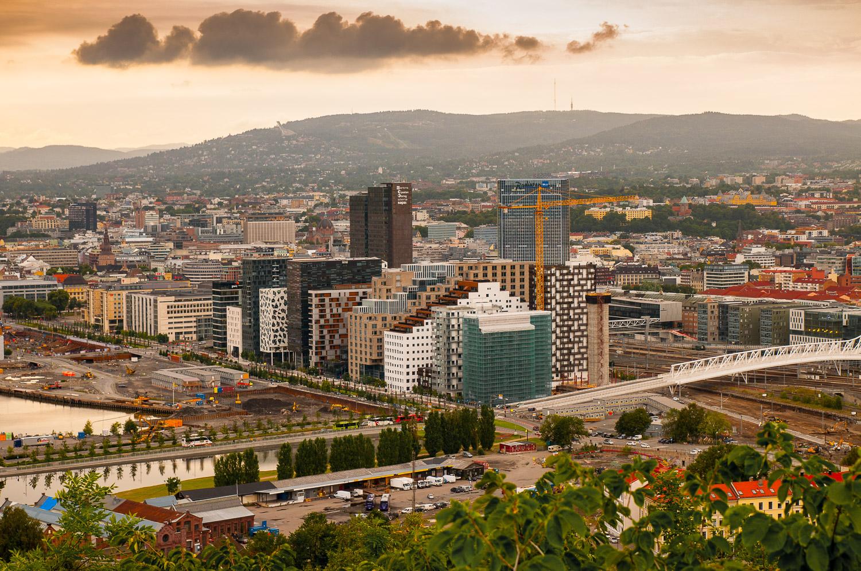 Namsen –Kongsberg – Oslo