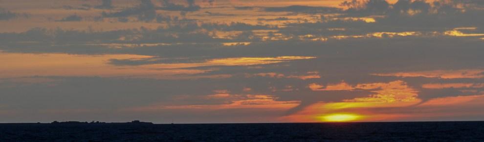 Sonnenuntergang in Kerdrien