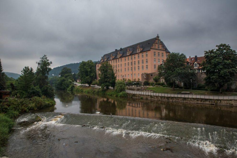 Weser - Welfenschloss Hann. Münden
