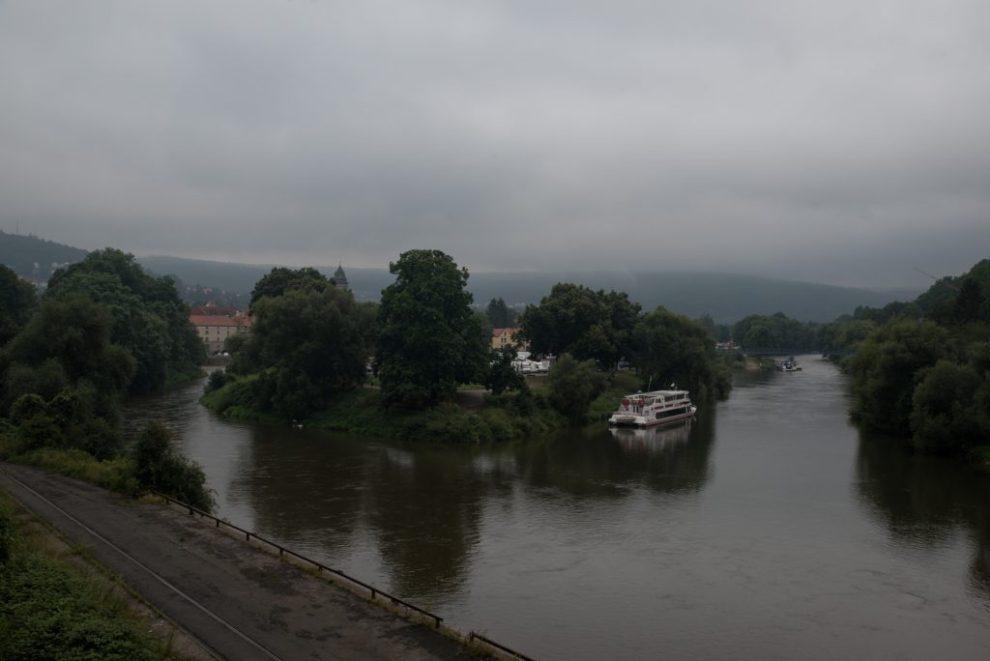 Weser - Kilometer 0 der Weser