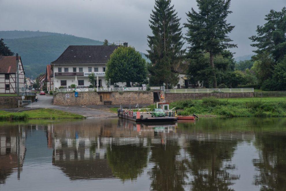 Weser - Fähre Hemeln - Veckerhagen