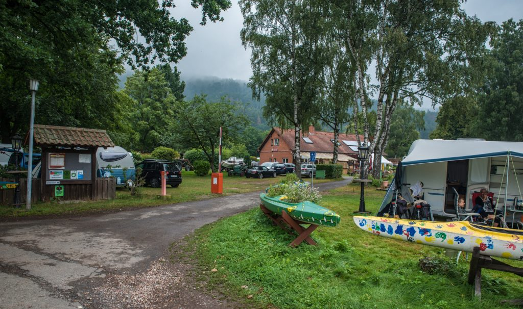 Campen im Fluss - Oedelsheim