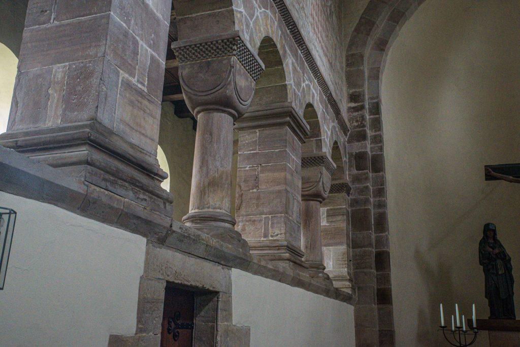 Ostflügel - Klosterkirche Bursfelde
