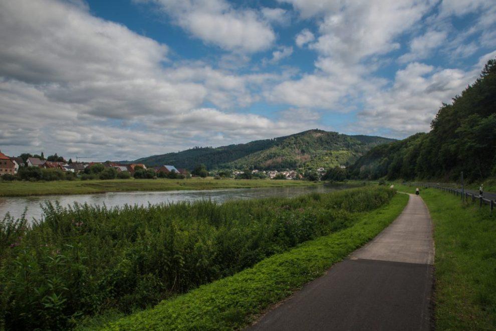 An Weserradweg bei Pegestorf