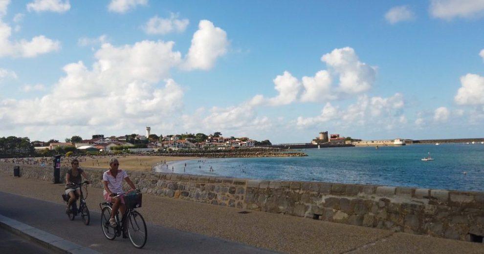 Die Bucht von Saint-Jean
