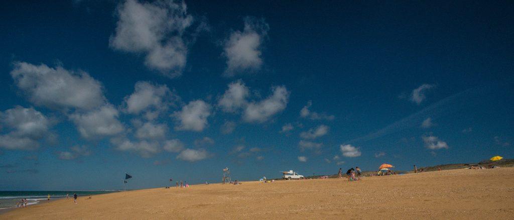 Strandperspektive - Ondres