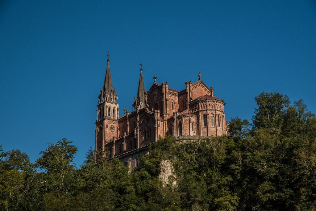 Südansicht Basilika - Covadonga