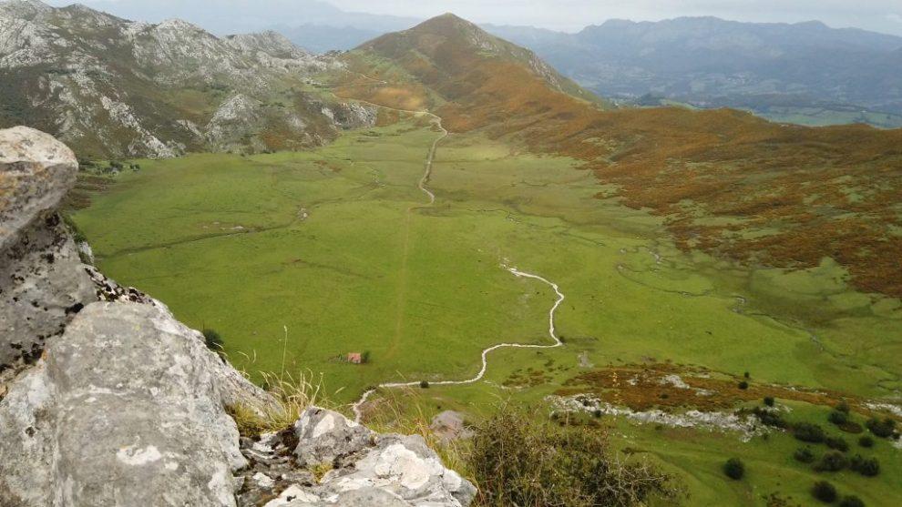 Blick nach Nordwesten I - Mirador de la Príncipe - Covadonga