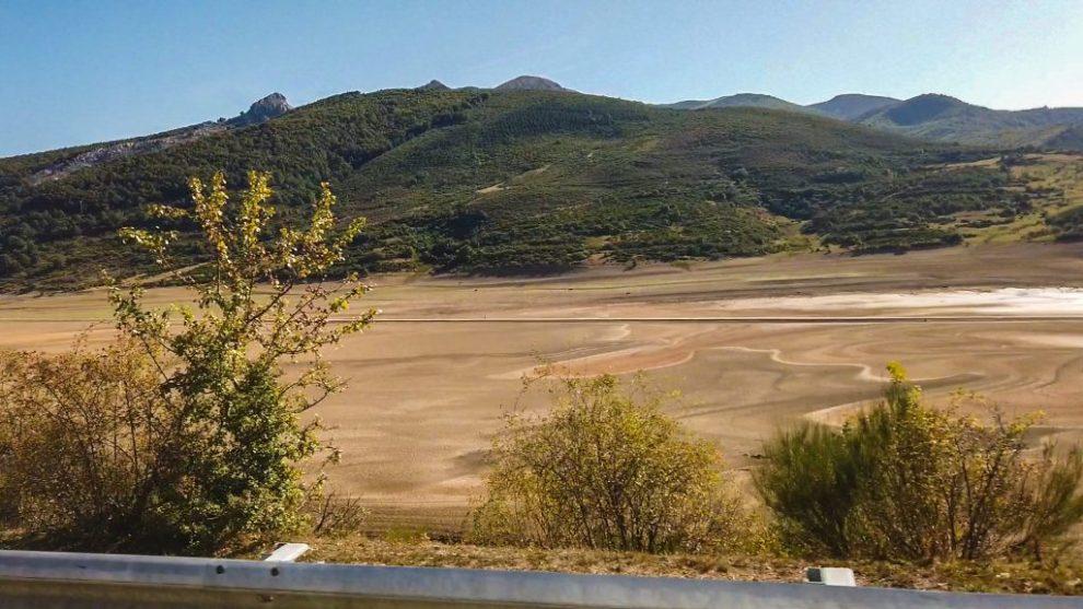 Zufluss des Rio Orza - Emblase de Riaño