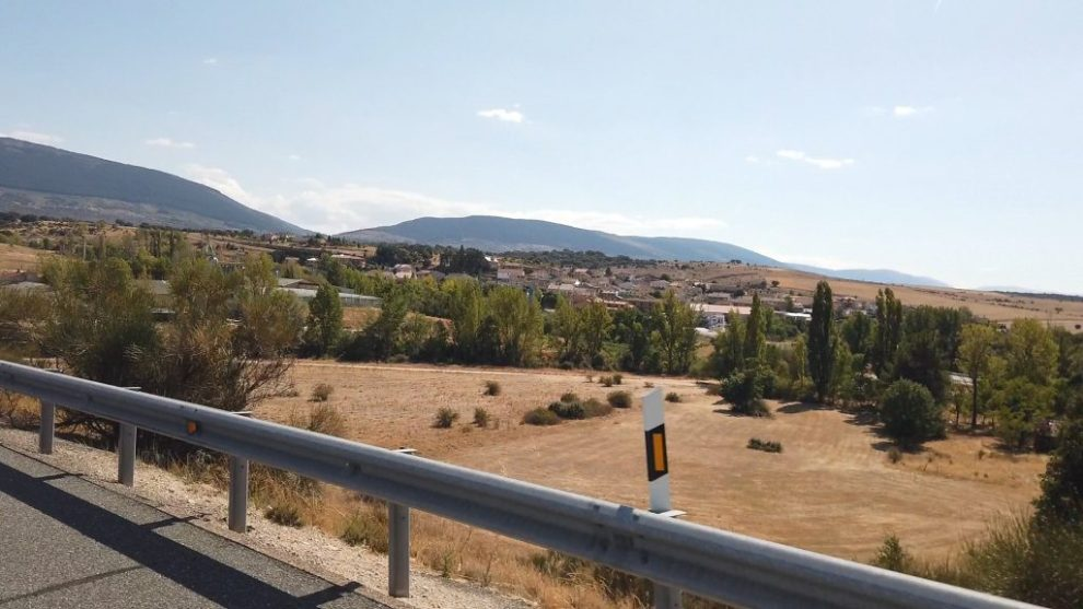 Sierra Guadaramma am Horizont