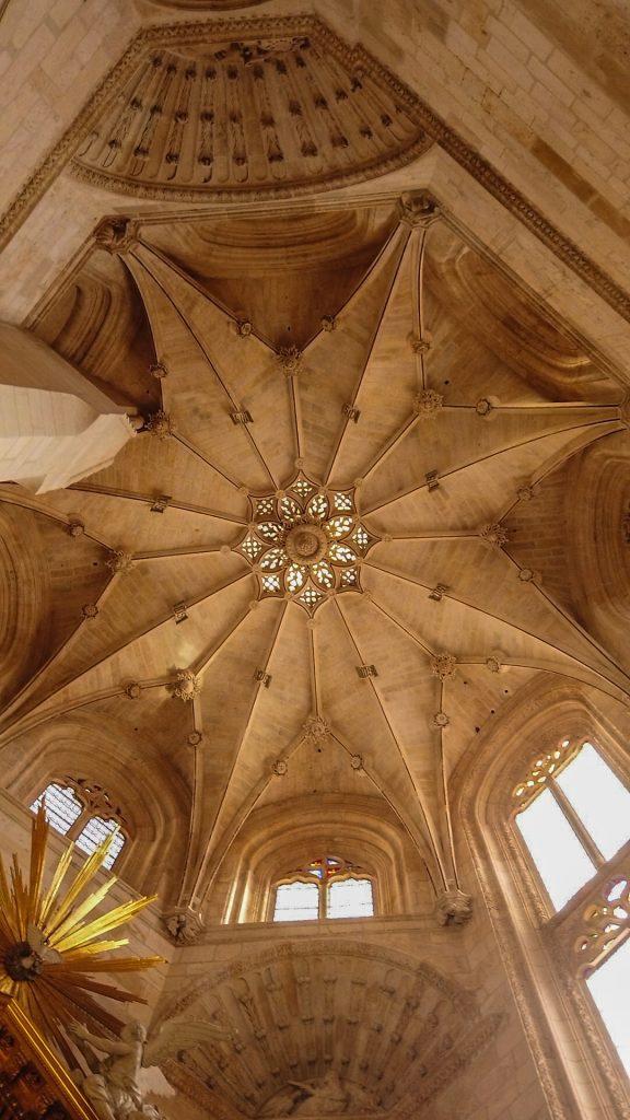 Sterngewölbe Capilla de la Presentación o de San José - Catedral de Stanta María Burgos
