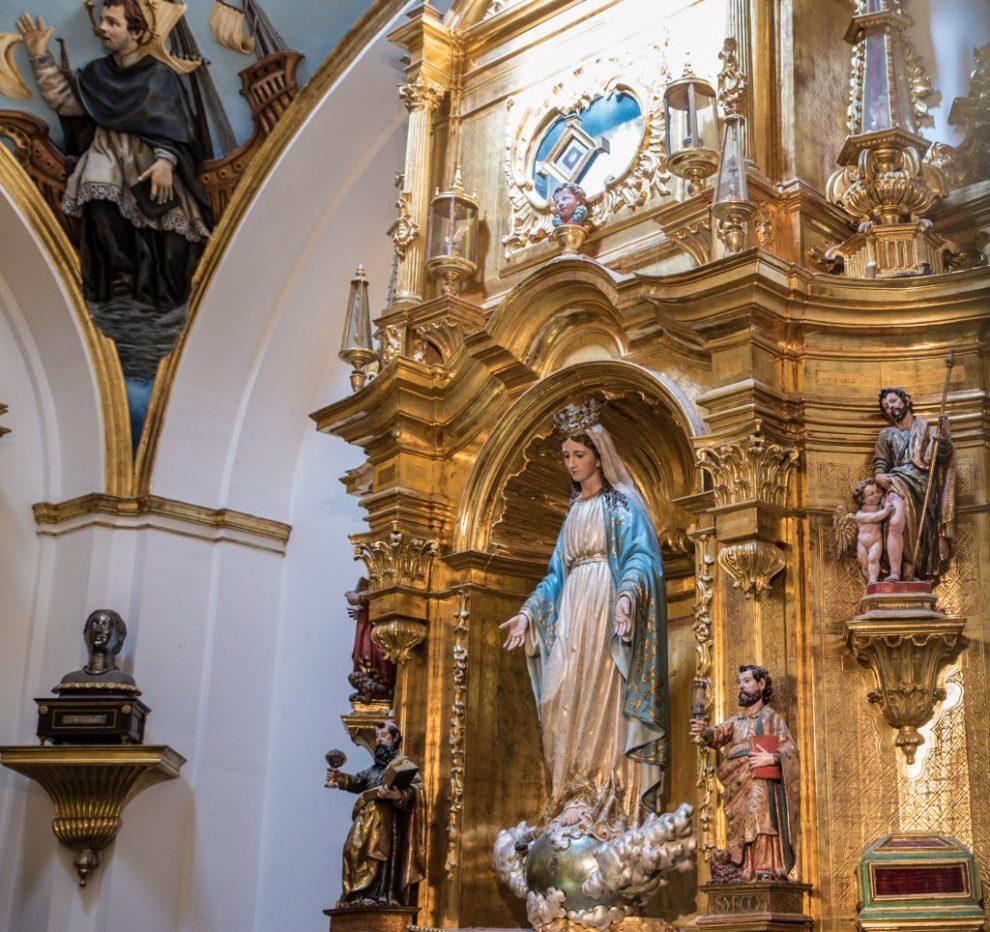 Schrankaufsatz Capilla de las Reliquias - Catedral de Santa María Burgos