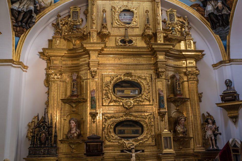 Reliquienschrank Capilla de las Reliquias - Catedral de Santa María Burgos