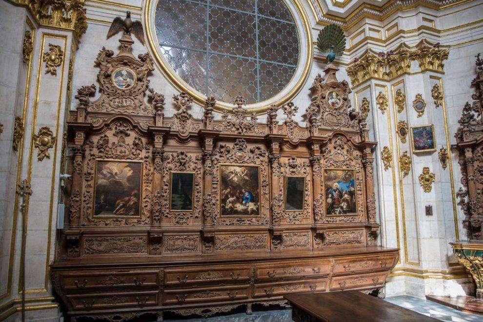 Detail Sacristía Mayor - Catedral de Santa María Burgos