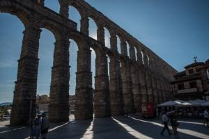 Ostansicht Aquädukt - Segovia