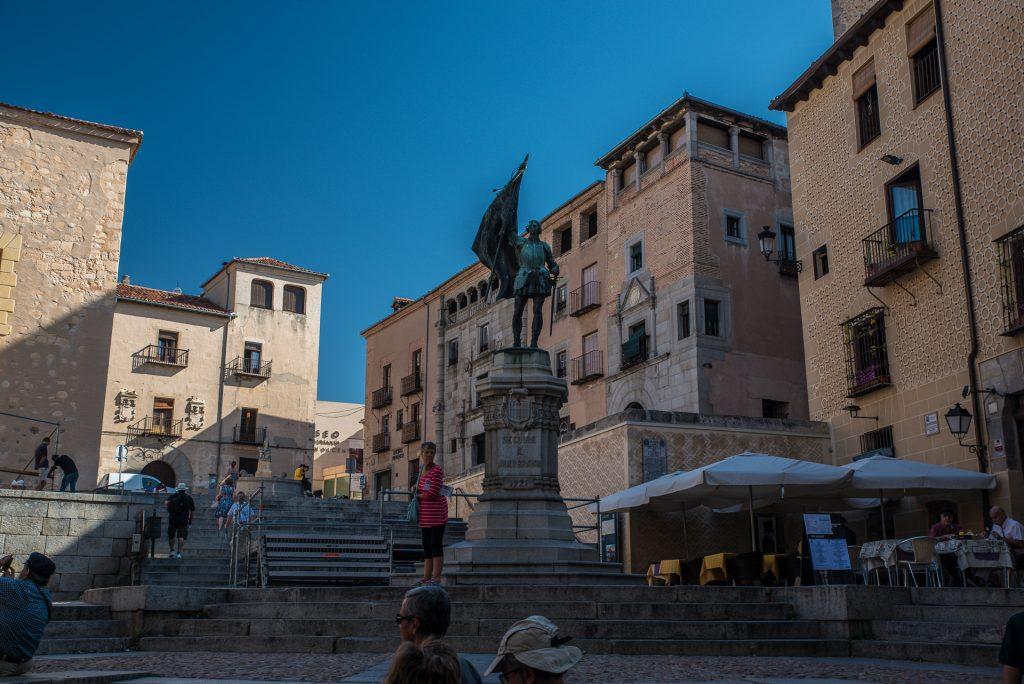 Denkmal Juan Bravo - Segovia