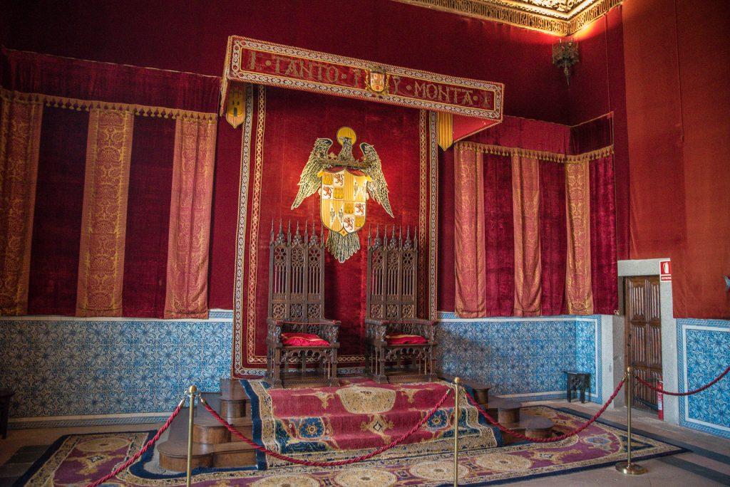 Thronsaal - Alcázar de Segovia