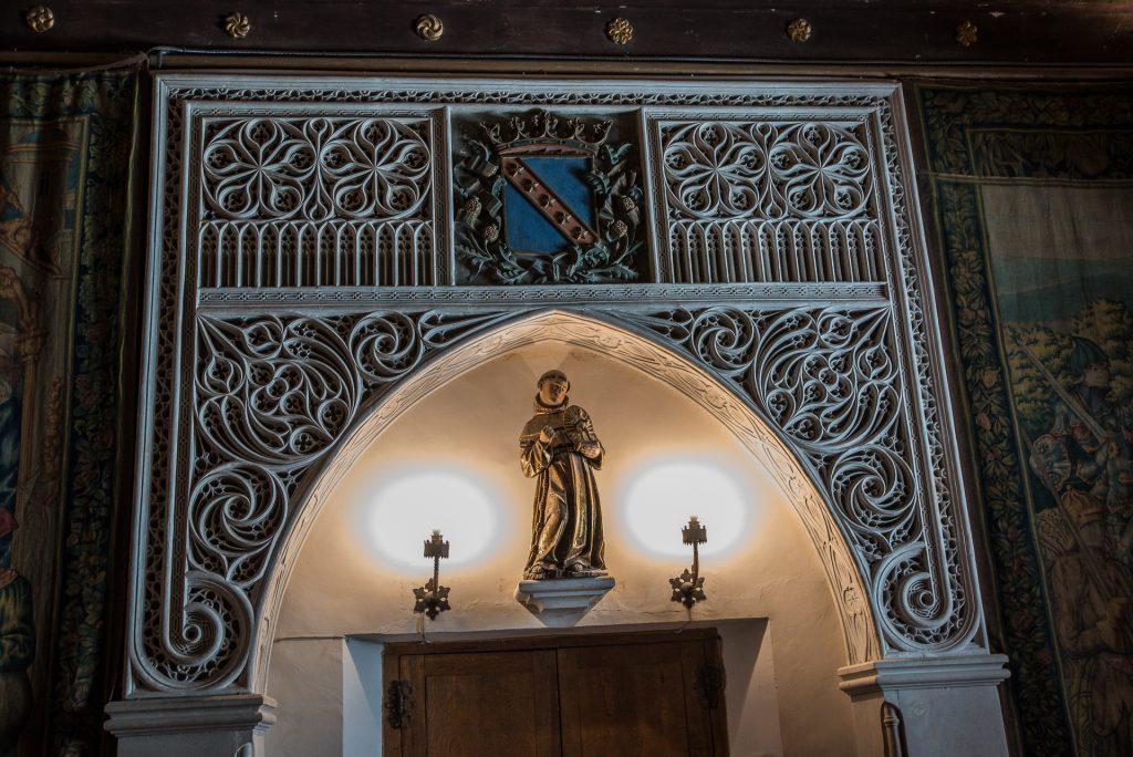 Altar Schlafsaal - Alcázar de Segovia