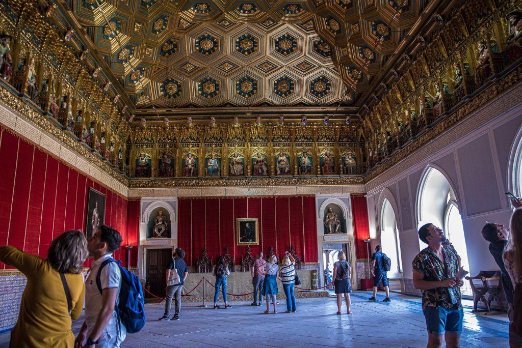 Saal der Könige - Alcázar de Segovia