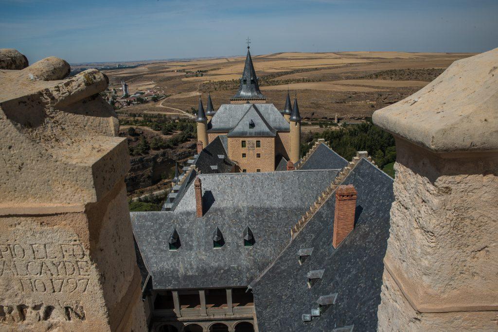Die Burg von oben - Torre Juan II.